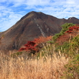 坊ヶツルと三俣山