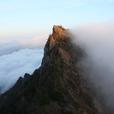 石鎚山 滝雲